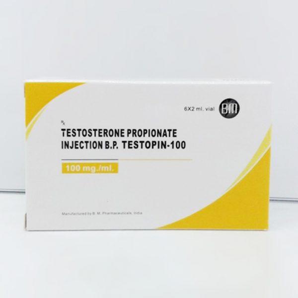 B.M. Pharmaceuticals Testopin-100 6 x 2ml (100 mg/ml)
