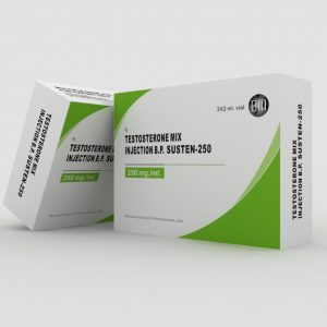 B.M. Pharmaceuticals Susten-250 3 x 2ml (250 mg/ml)