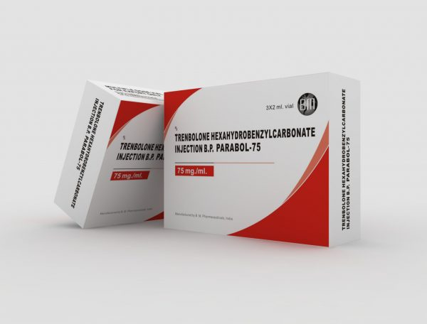 B.M. Pharmaceuticals Parabol-75 3 x 2ml (75 mg/ml)
