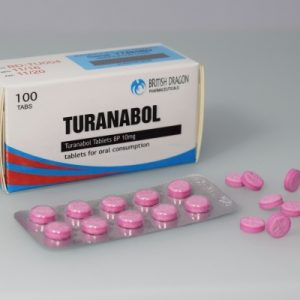British Dragon Turanabol Tablets 100 tablets of 10mg in a 10 blisters