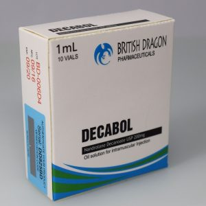 British Dragon Decabol Inject 10 Glass Vials 1 mL (200mg/ml)