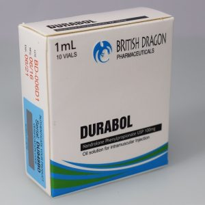 British Dragon Durabol Inject 10 Glass Vials 1 mL (100mg/ml)