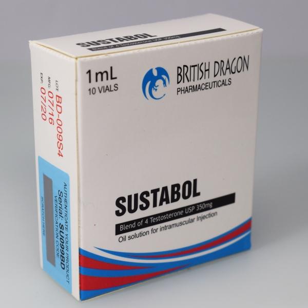 British Dragon Sustabol Inject 10 Glass Vials 1 mL (350mg/ml)