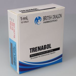 British Dragon Trenabol Inject 10 Glass Vials 1 mL (150mg/ml)