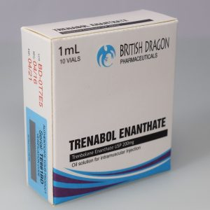 British Dragon Trenabol Enanthate Inject 10 Glass Vials 1 mL (200mg/ml)