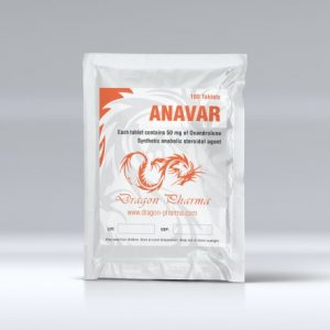 Dragon Pharma Anavar 50mg 100 Tabs (50mg/tab)