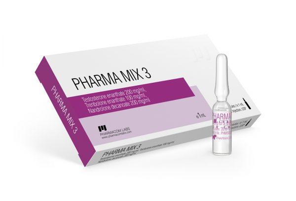 Pharmacom Labs PHARMA MIX 3 500 mg/ml 10 Ampules