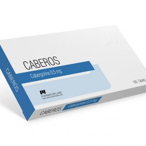 Pharmacom Labs CABEROS 0.5 mg/pill 100 tablets