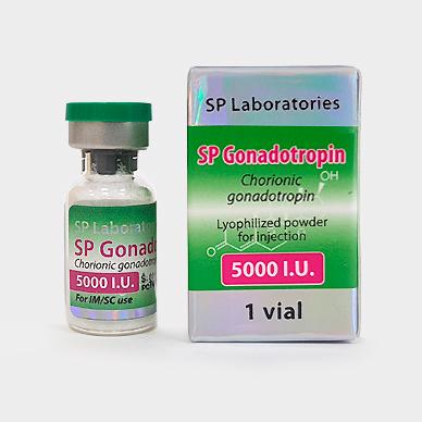 SP-Laboratories SP GONADOTROPIN 5000 1 vial contains 5000iu