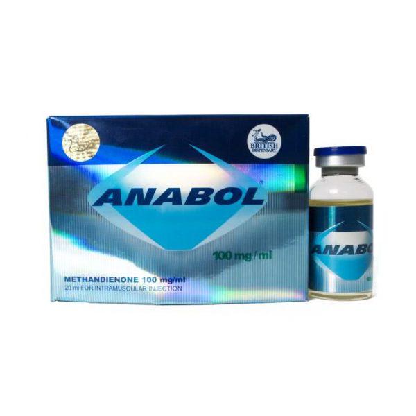 British Dispensary ANABOL 100 20 mL vial (100 mg/mL)