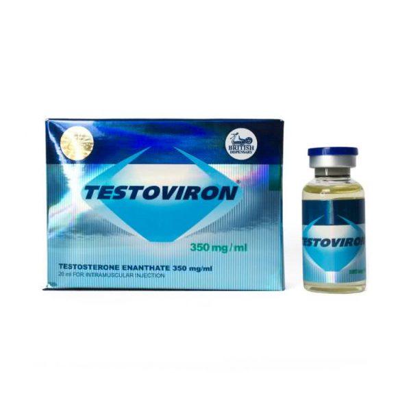 British Dispensary TESTOVIRON 350 20 mL vial (350 mg/mL)