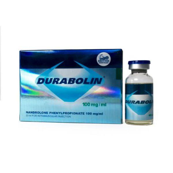 British Dispensary DURABOLIN 100 20 mL vial (100 mg/mL)