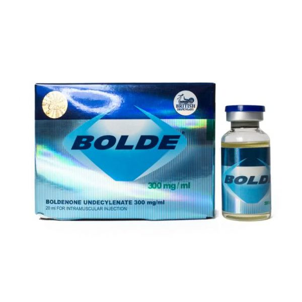 British Dispensary BOLDE 300 20 mL vial (300 mg/mL)