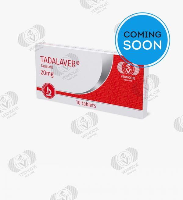 VERMODJE TADALAVER 20 mg 10 tablets