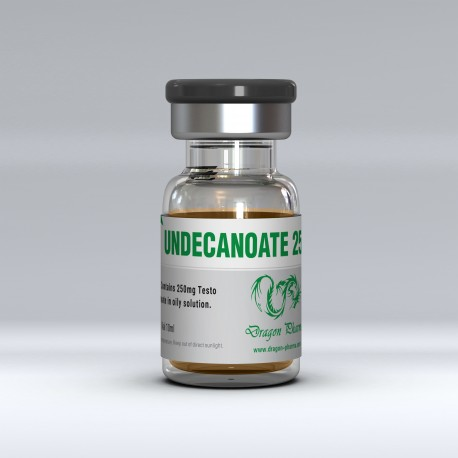 Dragon Pharma Undecanoate 250 10 mL vial (250 mg/mL)