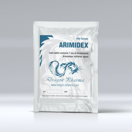 Dragon Pharma Arimidex 100 tabs (1 mg/tab)