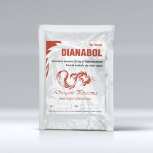 Dragon Pharma Dianabol 100 tabs (20 mg/tab)
