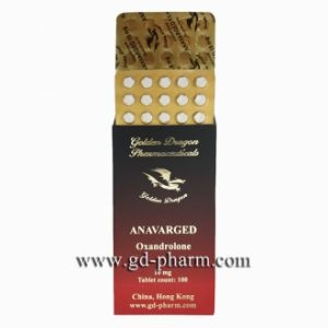 Golden Dragon Pharmaceuticals Anavarged 10 mg 100 tablets