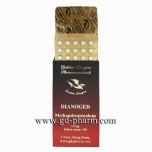 Golden Dragon Pharmaceuticals Dianoged 10 mg 100 tablets