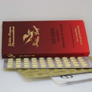 Golden Dragon Pharmaceuticals Oxiged 25 mg 100 tablets
