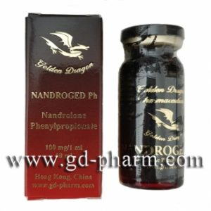 Golden Dragon Pharmaceuticals Nandroged Ph 10 ml vial (100 mg/ml)