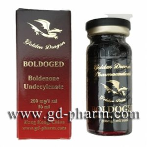 Golden Dragon Pharmaceuticals Boldoged 10 ml vial (200 mg/ml)