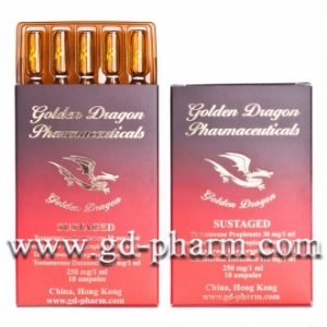 Golden Dragon Pharmaceuticals Sustaged 10 ampoules of 1ml (250mg/ml)