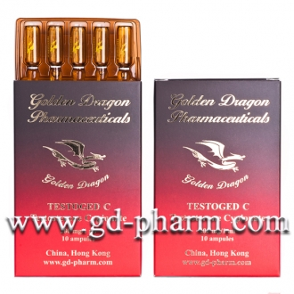 Golden Dragon Pharmaceuticals Testoged C 200 mg/ml 10 Ampules