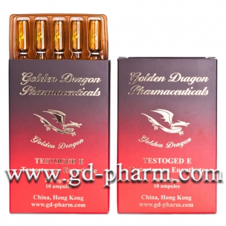 Golden Dragon Pharmaceuticals Testoged E 10 ampoules of 1ml (250mg/ml)