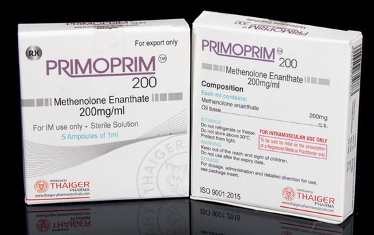 Thaiger Pharma Group PRIMOPRIM 200 5 ampoules of 1ml (200mg/ml)