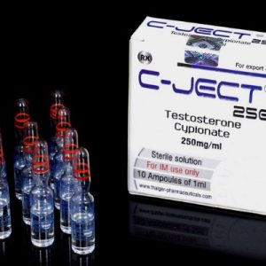 Thaiger Pharma Group C-JECT 250 10 ampoules of 1ml (250mg/ml)