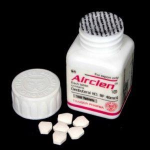Thaiger Pharma Group AIRCLEN 40 40 mcg 100 tablets