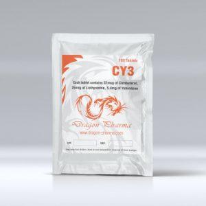 Dragon Pharma CY3 1 x 100 tabs