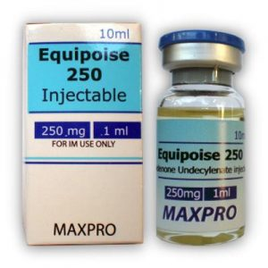MAXPROPHARMA EQUIPOISE 250 10 ml vial (100 mg/ml)