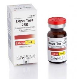Unigen Life Sciences DEPO TEST 250 10 ml vial (250 mg/ml)