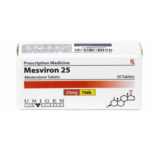 Unigen Life Sciences MESVIRON 50 tablets (1tab/25mg)