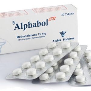 Alpha-Pharma Alphabol CR 30 tablets of 25mg per tablet
