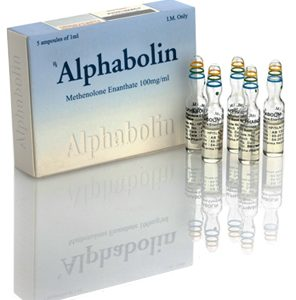 Alpha-Pharma Alphabolin 5 ampoules of 1ml (100mg/ml) or one vial of 10ml (100mg/ml)