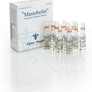 Alpha-Pharma Mastebolin 10 ampoules of 1ml (100mg/ml) or one vial of 10ml (100mg/ml)