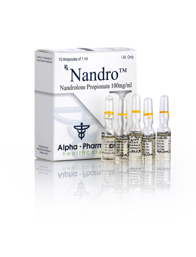 Alpha-Pharma Nandro 5 or 10 ampoules of 1ml (100mg/ml)