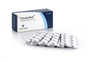 Alpha-Pharma Oxanabol 50 tablets of 10mg each