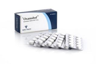 Alpha-Pharma Oxanabol 50 tablets of 10mg each