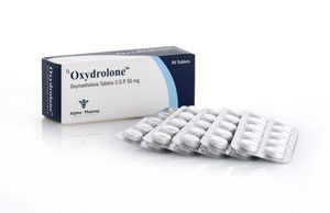 Alpha-Pharma Oxydrolone 50 tablets of 50mg per tablet