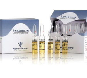 Alpha-Pharma Parabolin 5 ampoules of 1.5ml (76.5mg/1.5ml)