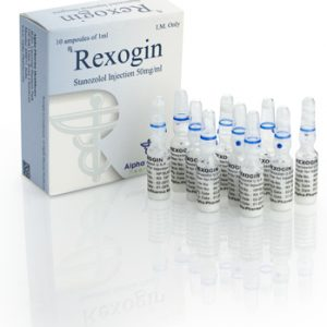Alpha-Pharma Rexogin 10 ampoules of 1ml (50mg/ml) or one vial of 10ml (50mg/ml)