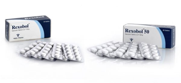Alpha-Pharma Rexobol 50 tablets of 10mg or 50mg per tablet