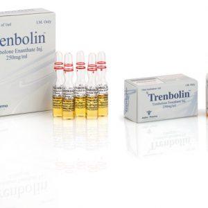 Alpha-Pharma Trenbolin 10 ampoules of 1ml (250mg/ml) or 1 vial of 10ml