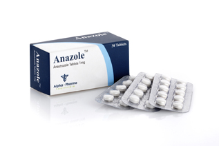 Alpha-Pharma Anazole 30 tablets of 1mg each