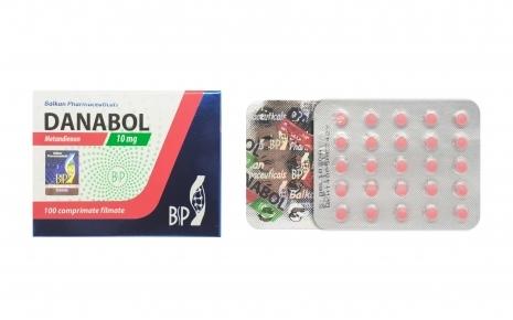 Balkan Pharmaceuticals Danabol 10mg 100 tablets (10 mg/tab)