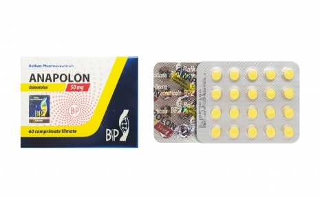 Balkan Pharmaceuticals Anapolon 60 tablets (50 mg/tab)